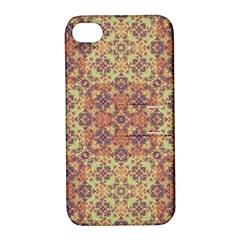 Vintage Ornate Baroque Apple iPhone 4/4S Hardshell Case with Stand