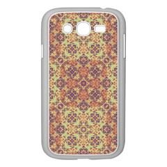 Vintage Ornate Baroque Samsung Galaxy Grand DUOS I9082 Case (White)