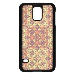 Vintage Ornate Baroque Samsung Galaxy S5 Case (Black)