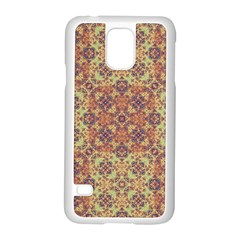Vintage Ornate Baroque Samsung Galaxy S5 Case (White)