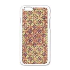 Vintage Ornate Baroque Apple iPhone 6/6S White Enamel Case