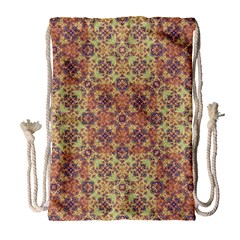 Vintage Ornate Baroque Drawstring Bag (Large)