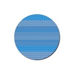 Pattern Rubber Round Coaster (4 pack)