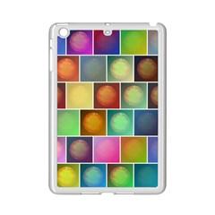 Multicolored Suns iPad Mini 2 Enamel Coated Cases