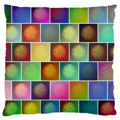 Multicolored Suns Standard Flano Cushion Case (One Side)