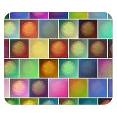 Multicolored Suns Double Sided Flano Blanket (Small)