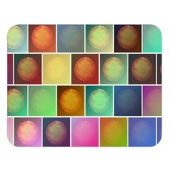 Multicolored Suns Double Sided Flano Blanket (Large)