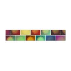Multicolored Suns Flano Scarf (Mini)