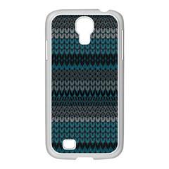 Pattern Samsung GALAXY S4 I9500/ I9505 Case (White)