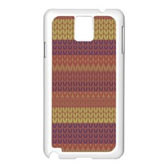 Pattern Samsung Galaxy Note 3 N9005 Case (White)