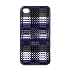 Pattern Apple iPhone 4 Case (Black)
