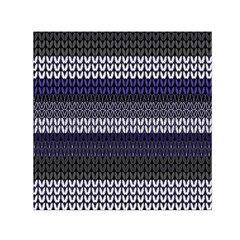 Pattern Small Satin Scarf (Square)