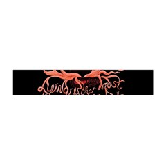 Panic At The Disco   Lying Is The Most Fun A Girl Have Without Taking Her Clothes Flano Scarf (Mini)