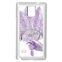 Panic At The Disco Samsung Galaxy Note 4 Case (White)