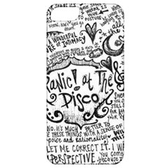 Panic! At The Disco Lyric Quotes Apple Iphone 5 Classic Hardshell Case