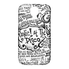 Panic! At The Disco Lyric Quotes Samsung Galaxy S4 Classic Hardshell Case (PC+Silicone)