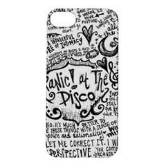 Panic! At The Disco Lyric Quotes Apple iPhone 5S/ SE Hardshell Case