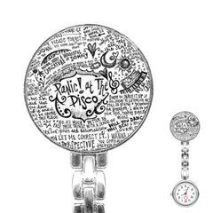 Panic! At The Disco Lyric Quotes Stainless Steel Nurses Watch