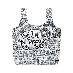 Panic! At The Disco Lyric Quotes Full Print Recycle Bags (m)