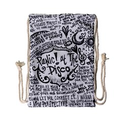 Panic! At The Disco Lyric Quotes Drawstring Bag (Small)