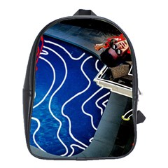 Panic! At The Disco Released Death Of A Bachelor School Bags(large)