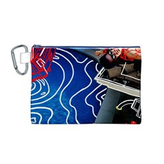 Panic! At The Disco Released Death Of A Bachelor Canvas Cosmetic Bag (M)