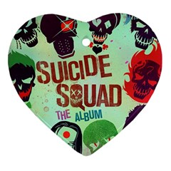 Panic! At The Disco Suicide Squad The Album Ornament (Heart)
