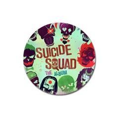 Panic! At The Disco Suicide Squad The Album Magnet 3  (Round)