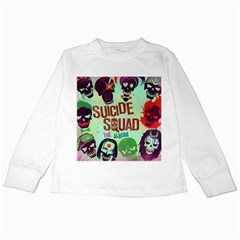 Panic! At The Disco Suicide Squad The Album Kids Long Sleeve T-Shirts