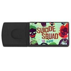 Panic! At The Disco Suicide Squad The Album USB Flash Drive Rectangular (4 GB)