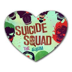 Panic! At The Disco Suicide Squad The Album Heart Mousepads