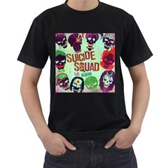 Panic! At The Disco Suicide Squad The Album Men s T-Shirt (Black)