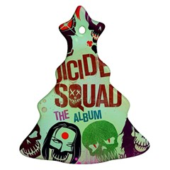 Panic! At The Disco Suicide Squad The Album Christmas Tree Ornament (Two Sides)
