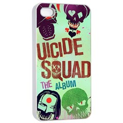 Panic! At The Disco Suicide Squad The Album Apple Iphone 4/4s Seamless Case (white)