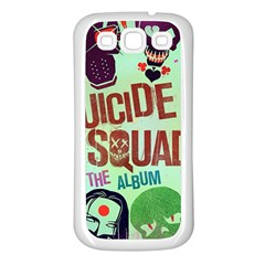Panic! At The Disco Suicide Squad The Album Samsung Galaxy S3 Back Case (White)