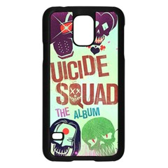 Panic! At The Disco Suicide Squad The Album Samsung Galaxy S5 Case (Black)