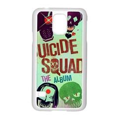 Panic! At The Disco Suicide Squad The Album Samsung Galaxy S5 Case (White)