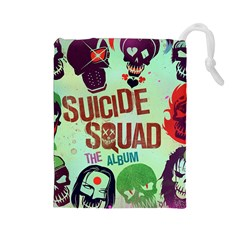 Panic! At The Disco Suicide Squad The Album Drawstring Pouches (large)