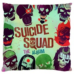 Panic! At The Disco Suicide Squad The Album Large Flano Cushion Case (one Side)