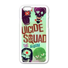 Panic! At The Disco Suicide Squad The Album Apple iPhone 6/6S White Enamel Case