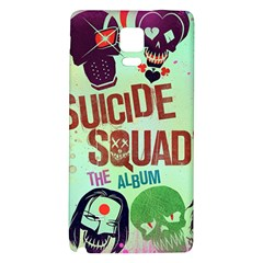 Panic! At The Disco Suicide Squad The Album Galaxy Note 4 Back Case