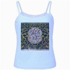 Panic! At The Disco Baby Blue Spaghetti Tank