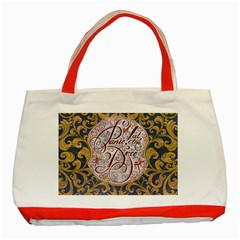 Panic! At The Disco Classic Tote Bag (red)