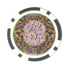 Panic! At The Disco Poker Chip Card Guard (10 pack)