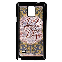 Panic! At The Disco Samsung Galaxy Note 4 Case (Black)