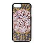 Panic! At The Disco Apple iPhone 7 Plus Seamless Case (Black) Front