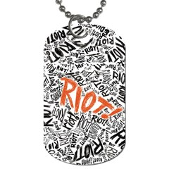 Paramore Is An American Rock Band Dog Tag (one Side)