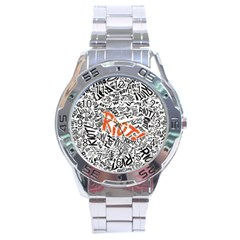 Paramore Is An American Rock Band Stainless Steel Analogue Watch