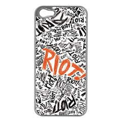 Paramore Is An American Rock Band Apple iPhone 5 Case (Silver)