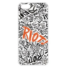 Paramore Is An American Rock Band Apple iPhone 5 Seamless Case (White)